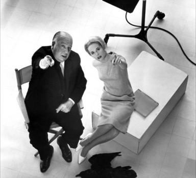 Tippi Hedren, Alfred Hitchcock
